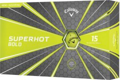 Callaway Superhot Bold Yellow 15 Pack Golf Balls