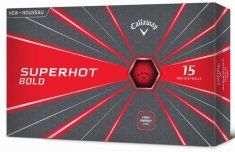 Callaway Superhot Bold Red 15 Pack Golf Balls