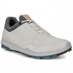 ECCO BIOM Hybrid 3 Golf Shoes White/Blue