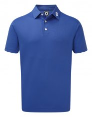 Footjoy Stretch Pique Shirt Blue Marlin