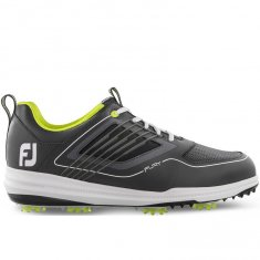 FootJoy Fury Golf Shoes Grey/Lime 51102