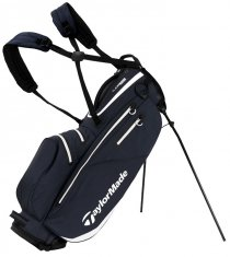 TaylorMade Flextech Waterproof Stand Bag Grey/White