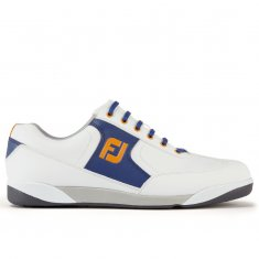 FootJoy AWD XL Casual Shoes White/Midnight Blue/Melon 57874