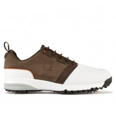 FootJoy Contour Fit White/Brown 54152