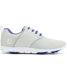 FootJoy enjoy Ladies Golf Shoes Light Grey/ Periwinkle 95708
