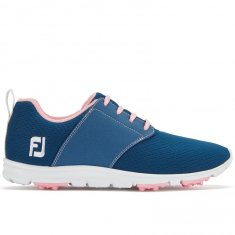 FootJoy enjoy Ladies Golf Shoes Blue/ Pink 95710