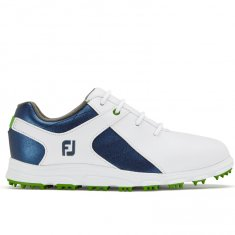 FootJoy Junior Pro SL pattern White/ Blue 45039
