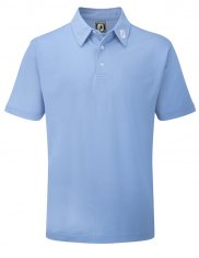Footjoy Stretch Pique Shirt Light Blue