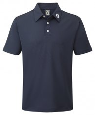 Footjoy Stretch Pique Shirt Navy