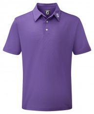 Footjoy Stretch Pique Shirt Purple