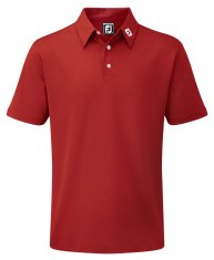 Footjoy Stretch Pique Shirt Red