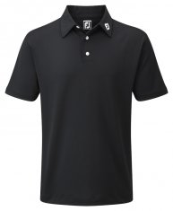 Footjoy Stretch Pique Shirt Black