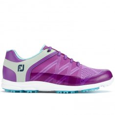 FootJoy Sport SL Ladies Golf Shoes Purple/ Light Blue 98028