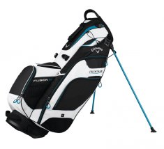 Callaway Rogue Fusion 14 Stand Bag Black/ White