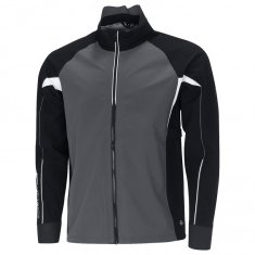 Galvin Green Argon C-Knit Jacket Iron Grey/Black/White
