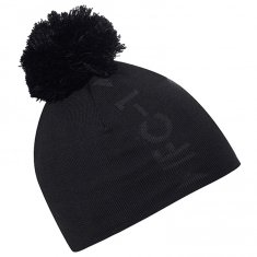 Galvin Green Lennon Bobble Hat Black/ Iron Grey