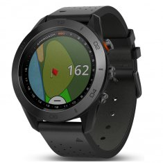 Garmin Approach S60 Premium With Leather Strap