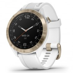 Garmin Approach S40 White Stainless Steel