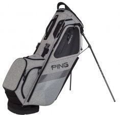 Ping Hoofer Stand Bag Heather Grey/ Black