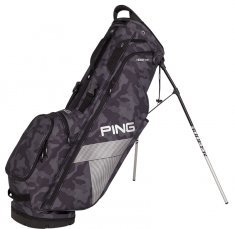 Ping Hoofer Lite Stand Bag Black Camo/ Platinum