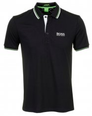 Hugo Boss Paddy Pro Black Polo Shirt