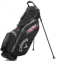 Callaway Hyper Dry C Double Strap Stand Bag Black/Charcoal