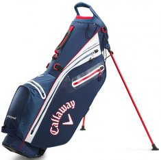 Callaway Hyper Dry C Double Strap Stand Bag Navy/White