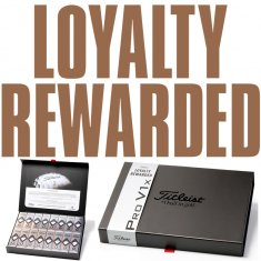 Titleist Pro V1x BUY 3 get 1 FREE Loyalty Gift Pack Plain