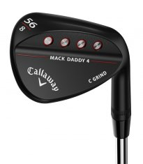 Callaway Mack Daddy 4 Matte Black Wedge