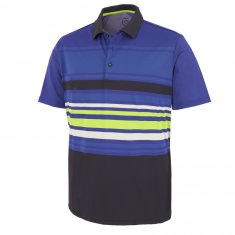 Galvin Green Miguel Polo Shirt Navy/Surf Blue/Kings Blue