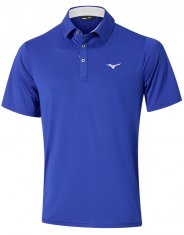 Mizuno Quick Dry Performance Polo Blue