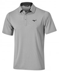 Mizuno Quick Dry Performance Polo Grey