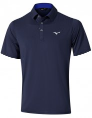Mizuno Quick Dry Performance Polo Navy