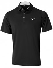 Mizuno Quick Dry Performance Polo Black