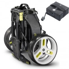 Motocaddy M1 Pro Trolley With 18 Hole Lead Acid Battery