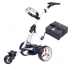 Motocaddy S1 Electric Trolley With 18 Hole Lead Acid Battery