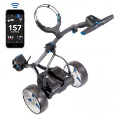 Motocaddy S5 Connect DHC Trolley With Extended Holes Lithium Battery