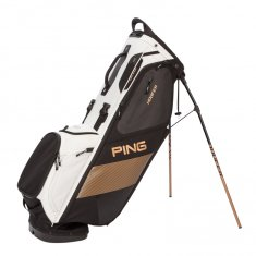 Ping Hoofer Stand Bag Black/ White/ Canyon Copper
