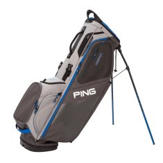 Ping Hoofer Stand Bag Graphite/ Silver/ Blue