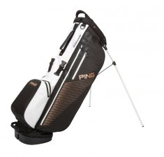Ping Hoofer Monsoon Stand Bag Black/ White/ Canyon Copper