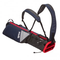 Ping Moonlite Pencil Bag Navy/ White/ Red