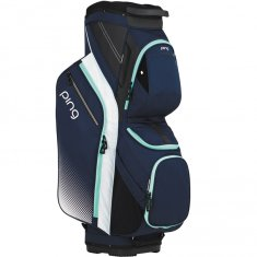 Ping Traverse Navy/White/Mint Ladies Cart Bag