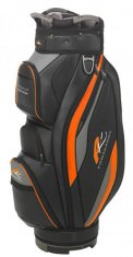 Powakaddy Premium Edition Cart Bag 2019 Black/Orange