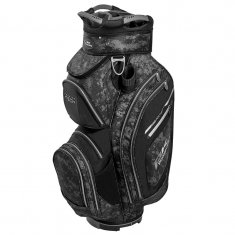 Powakaddy Premium Tech Cart Bag Black/Grey Camo/Silver