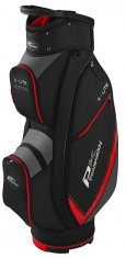 Powakaddy X Lite Cart Bag Black/Titanium/Red