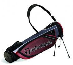 TaylorMade Quiver Black/White/Red Pencil Bag