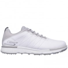 Skechers Go Golf Elite V.3 White Leather/ Grey Trim
