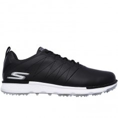 Skechers Go Golf Elite V.3 Black Leather/ White Trim