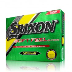 Srixon Soft Feel Golf Balls Yellow