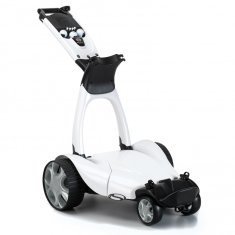 Stewart Golf X9 Follow Electric Trolley With Extended Battery
